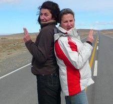Michèle et Marie-Anne en Patagonie Argentine