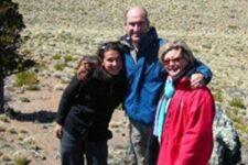 La famille Escalas en Patagonie