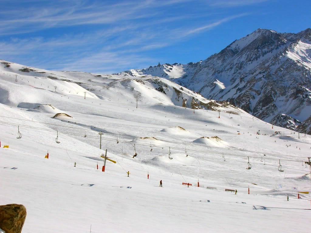 Ski haute altitude en Argentine