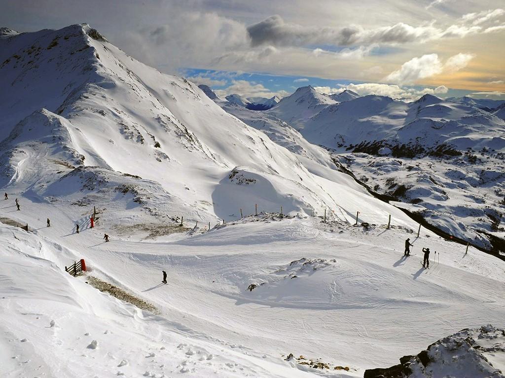Pistes de ski à Ushuaïa