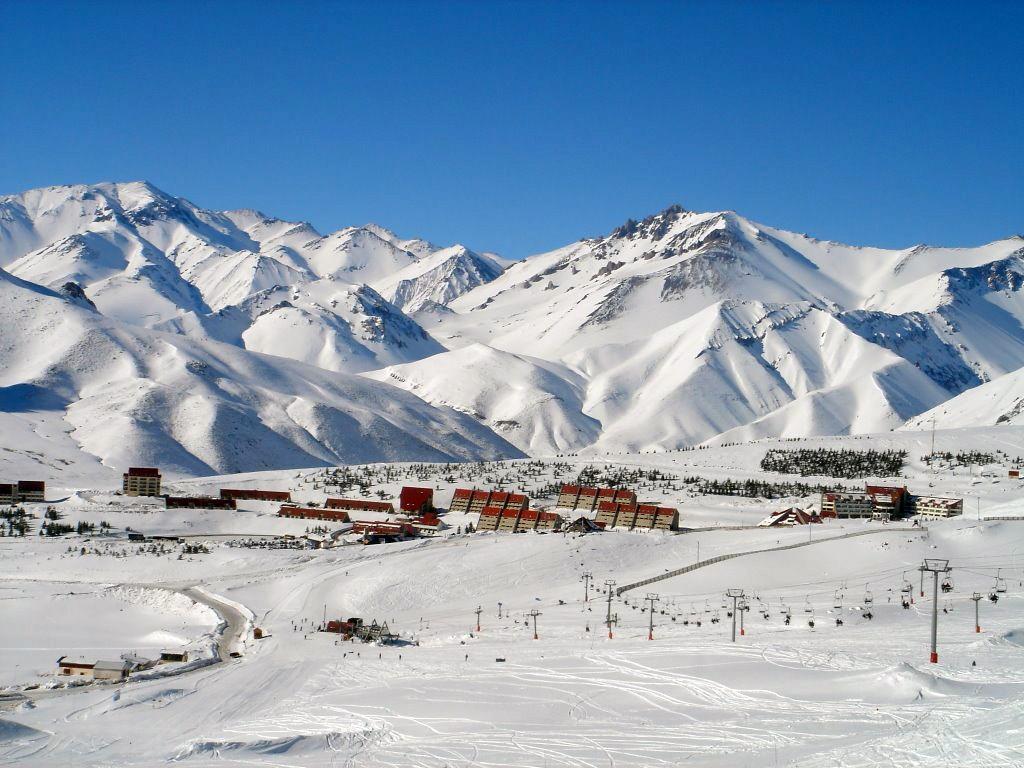 Station de ski La Leñas à Mendoza Argentine