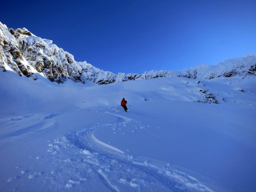 Ski hors-piste au Chili