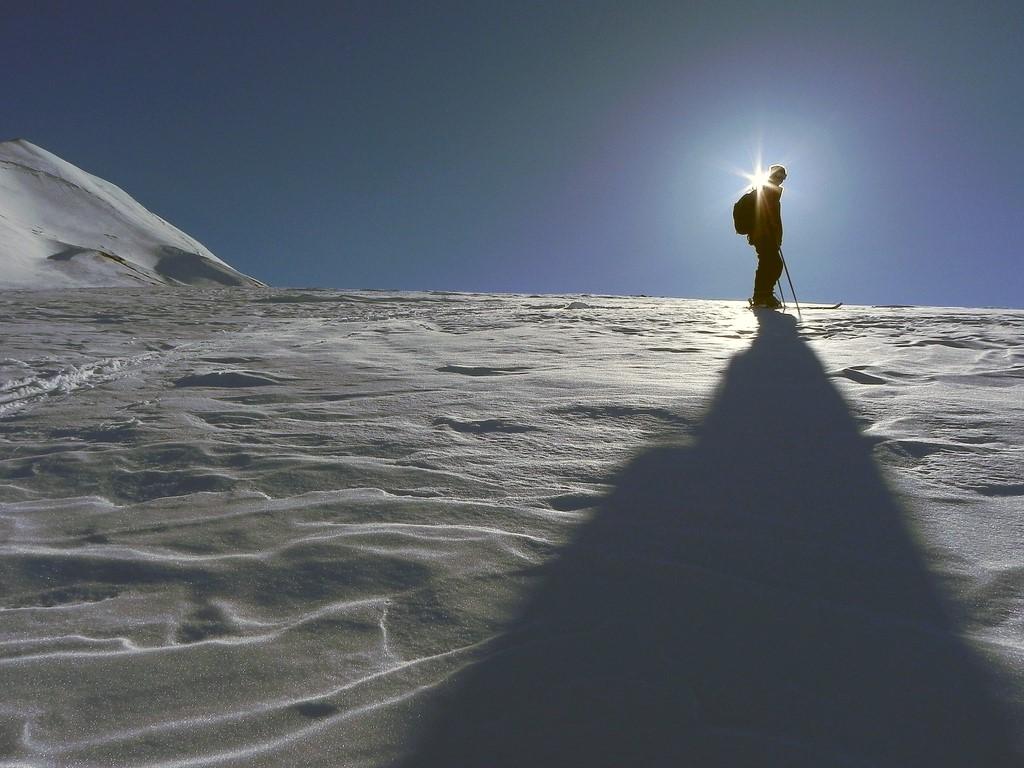 Skier sur les volcans de Patagonie