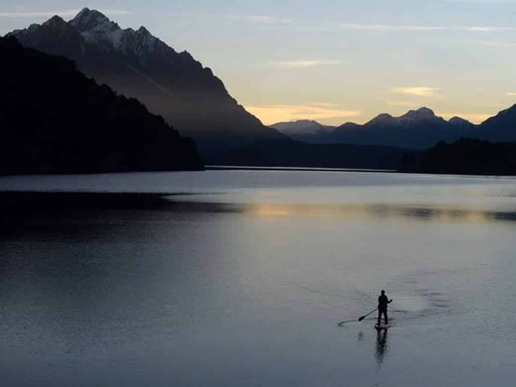Autour de Bariloche en stand up paddle