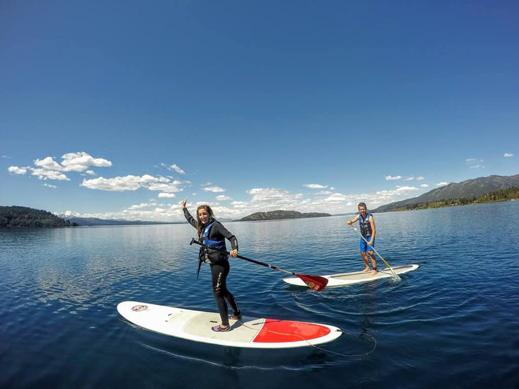 Le stand-up paddle en Patagonie
