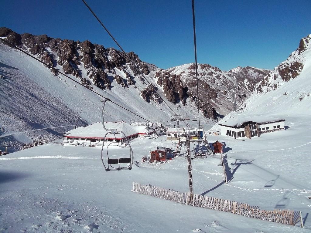 Station de ski La Hoya en Patagonie Argentine