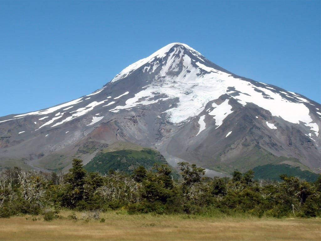 Survoler les volcans des Andes
