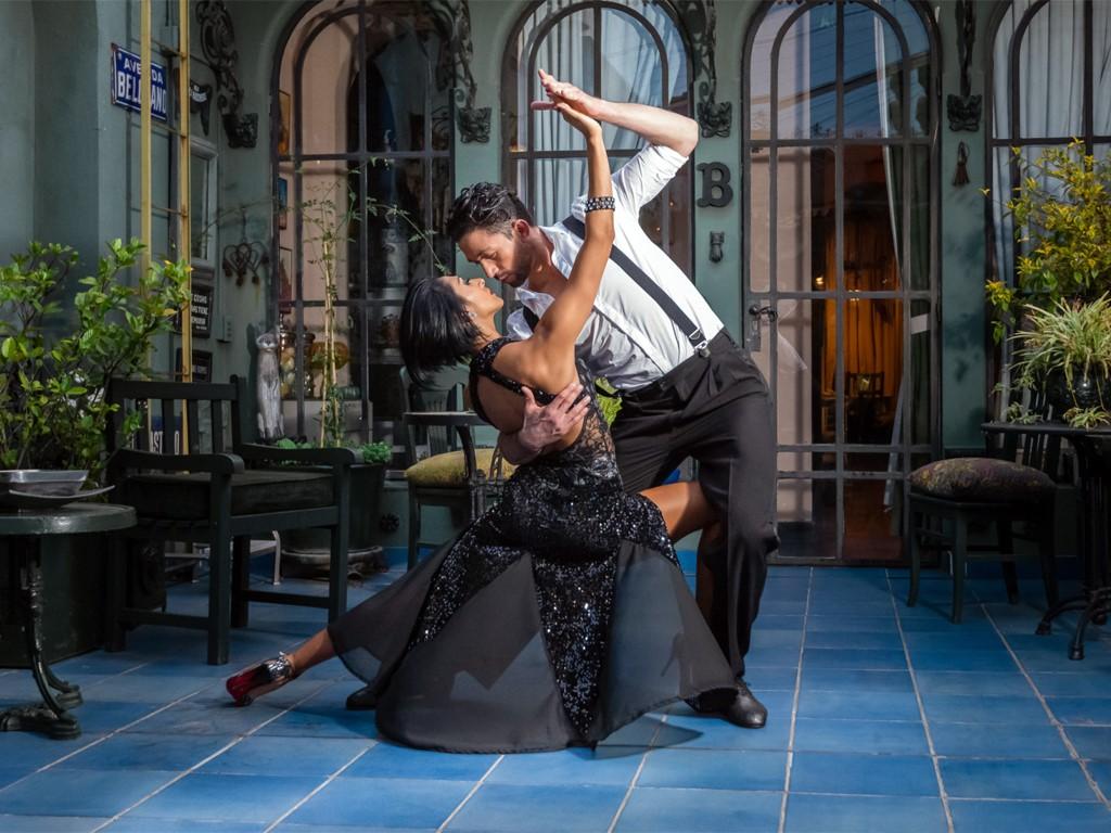 Danse traditionnelle à Buenos Aires : Le Tango