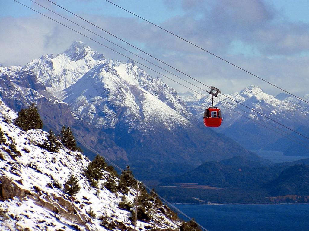 Téléphérique du Cerro Catedral à Bariloche