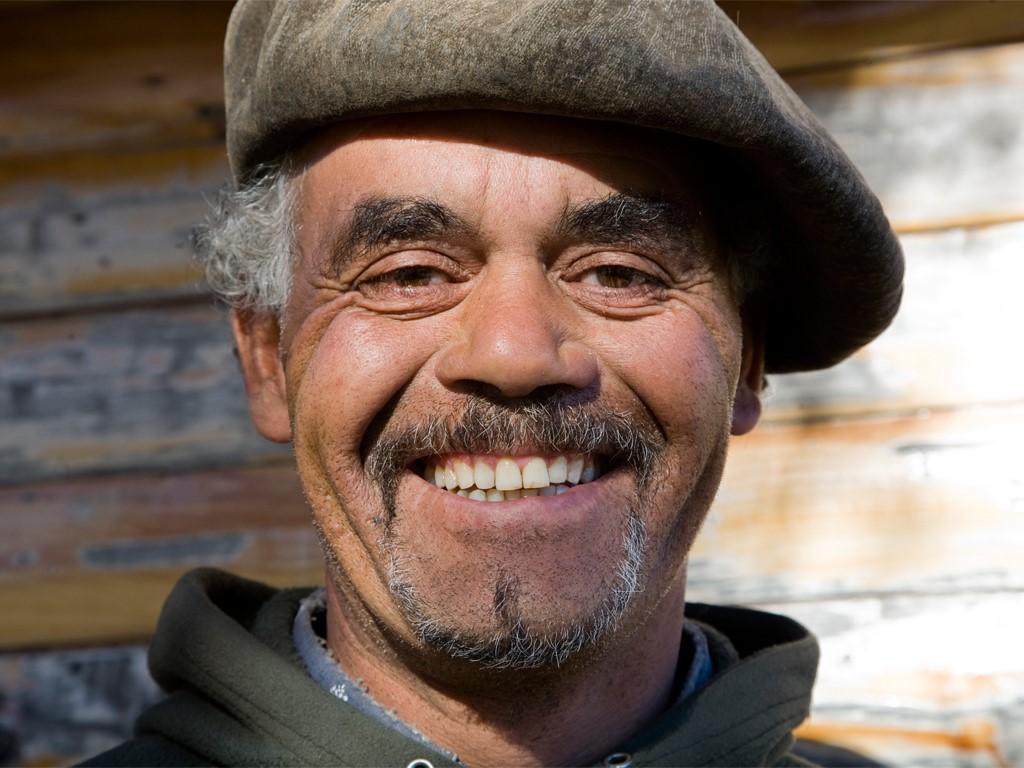 Tito gaucho de Patagonie Argentine