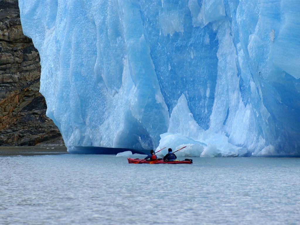Kayak au Sud du Chili à Torres del Paine