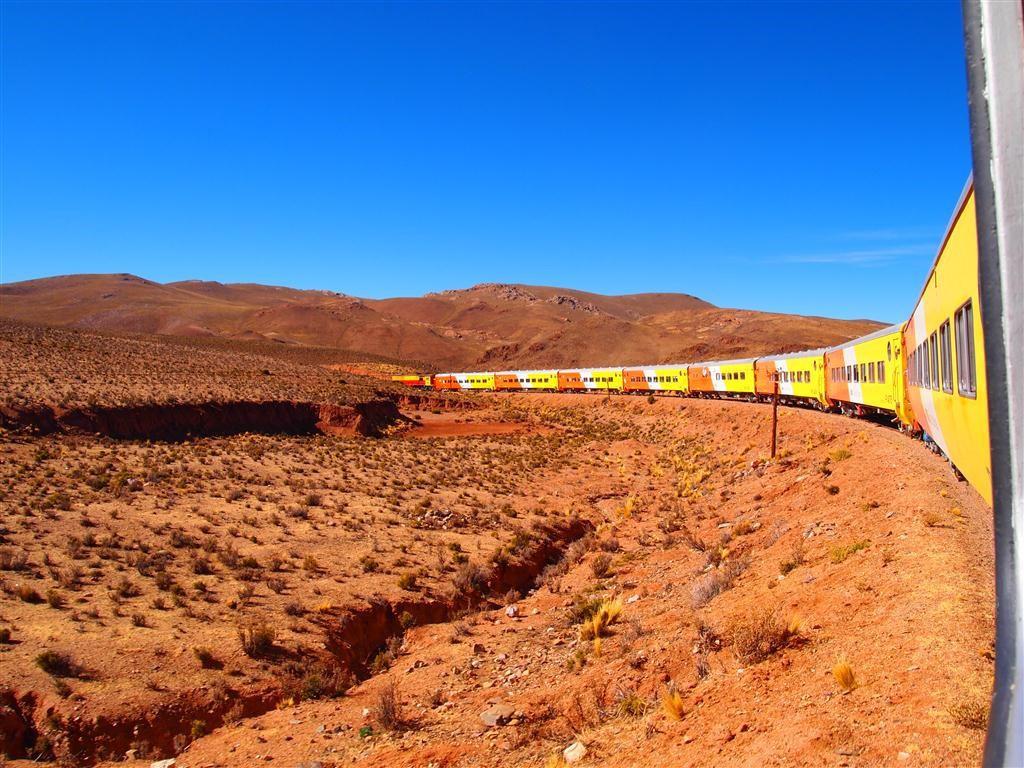 Voyage en train de Salta à San Antonio de los Cobres