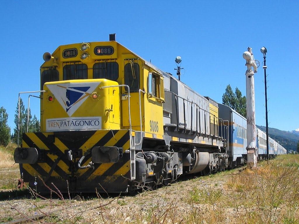 Le train patagonien qui relie Buenos Aires à Bariloche