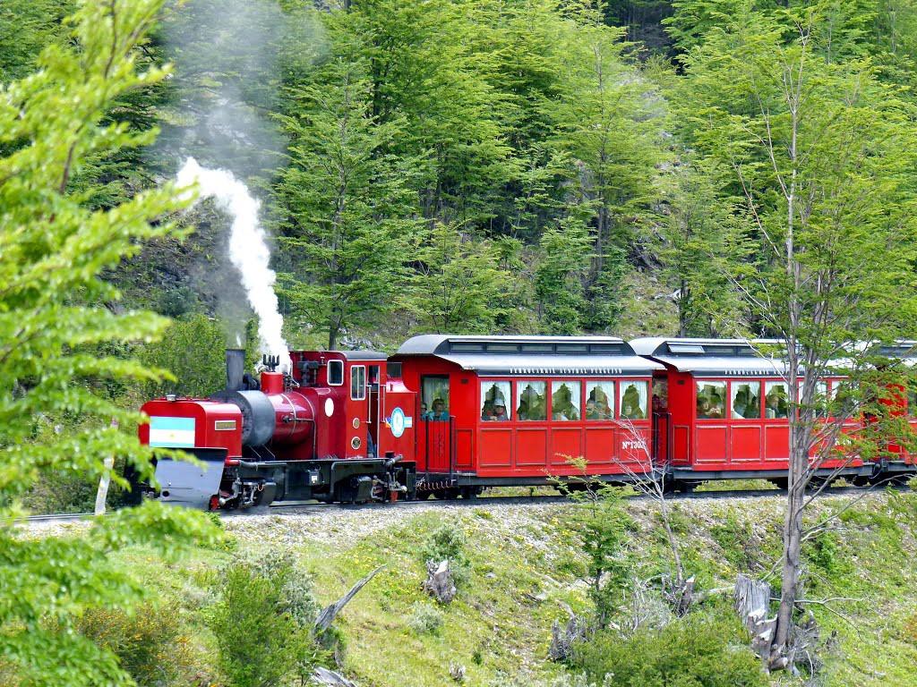 Le train du bout du monde à Ushuaia