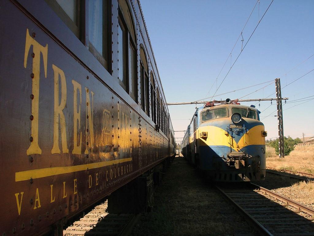 Viajando en tren en Chile con el Transpacífico