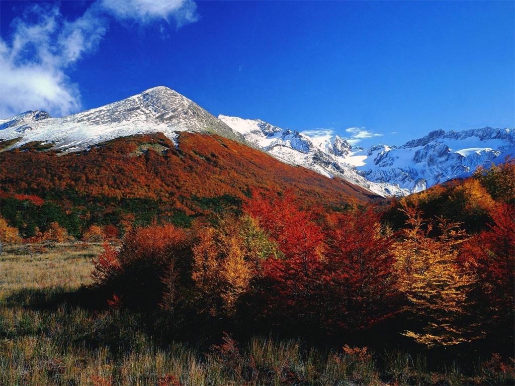 Vallées d'automne à Ushuaia