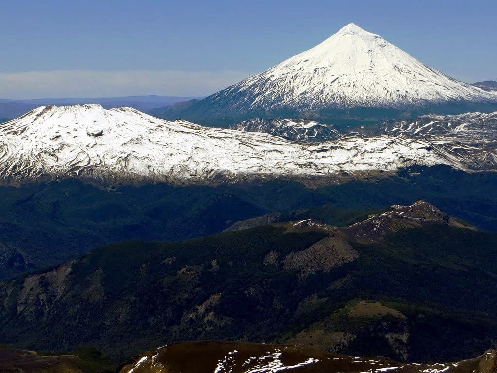 Volcan Quetrupillan au Chili