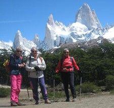 Colette Verdy, Catherine Aguirre et Danielle Terren en Argentine et au Chili