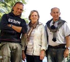 Elisabeth et Bernard Petridis en Argentine