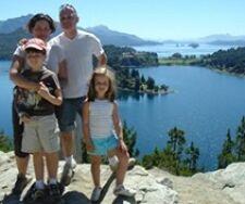 La famille Burban en Argentine
