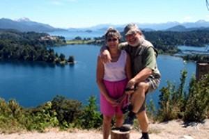 Jeannine et Michel Rullier en Argentine