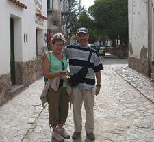 Marie-Gabrielle et Edouard Hernandez au Nord-Ouest Argentine