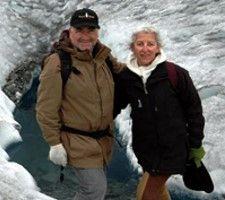 Agnès et Serge Momus en Patagonie Argentine et Chilienne