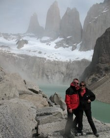 Christiane et Louis Kocet en Patagonie Argentine et Chili