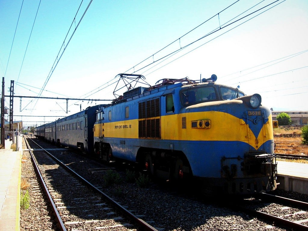 Travesía de Chile en tren